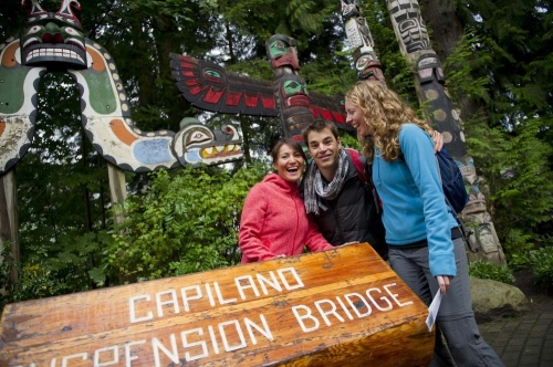 Vancouver Capilano Suspension Bridge © Destination Canada